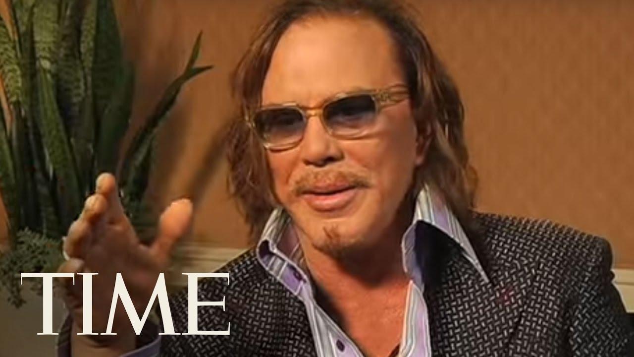 TIME Magazine Interviews: Mickey Rourke - YouTube