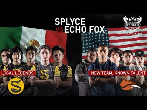 Gears of War 4 | SPLYCE VS ECHO FOX | MEXICO CITY GEARS ESPORTS OPEN (MAP 2)
