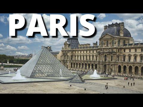 Tour Paris Vacation 2018 Visit France Travel City Break Guide Video
