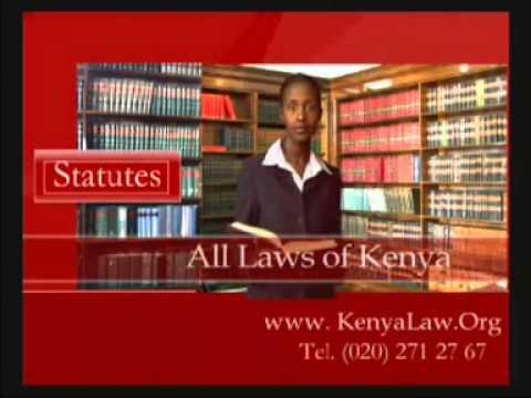 Kenya Law Reports Advert
