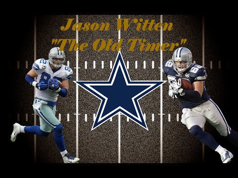 "Jason Witten Highlights ""The Old Timer"""