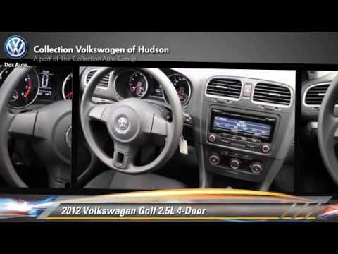 Used 2012 Volkswagen Golf 2.5L 4-Door - Hudson