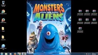 Descargar e Instalar Monsters vs Aliens El Juego Full ISO en Español