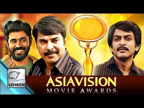 Asiavision Film Awards 2015: Complete Winners List | Lehren Malayalam