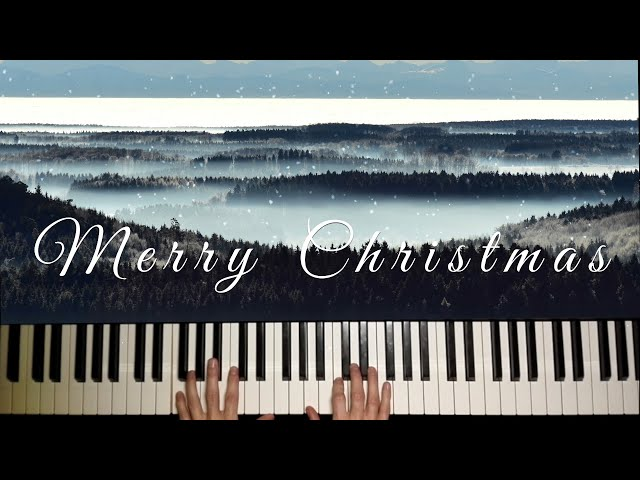Subscriber Merry Christmas Song 💝 Jazzy Christmas Music played by Martin Sjolte Starson