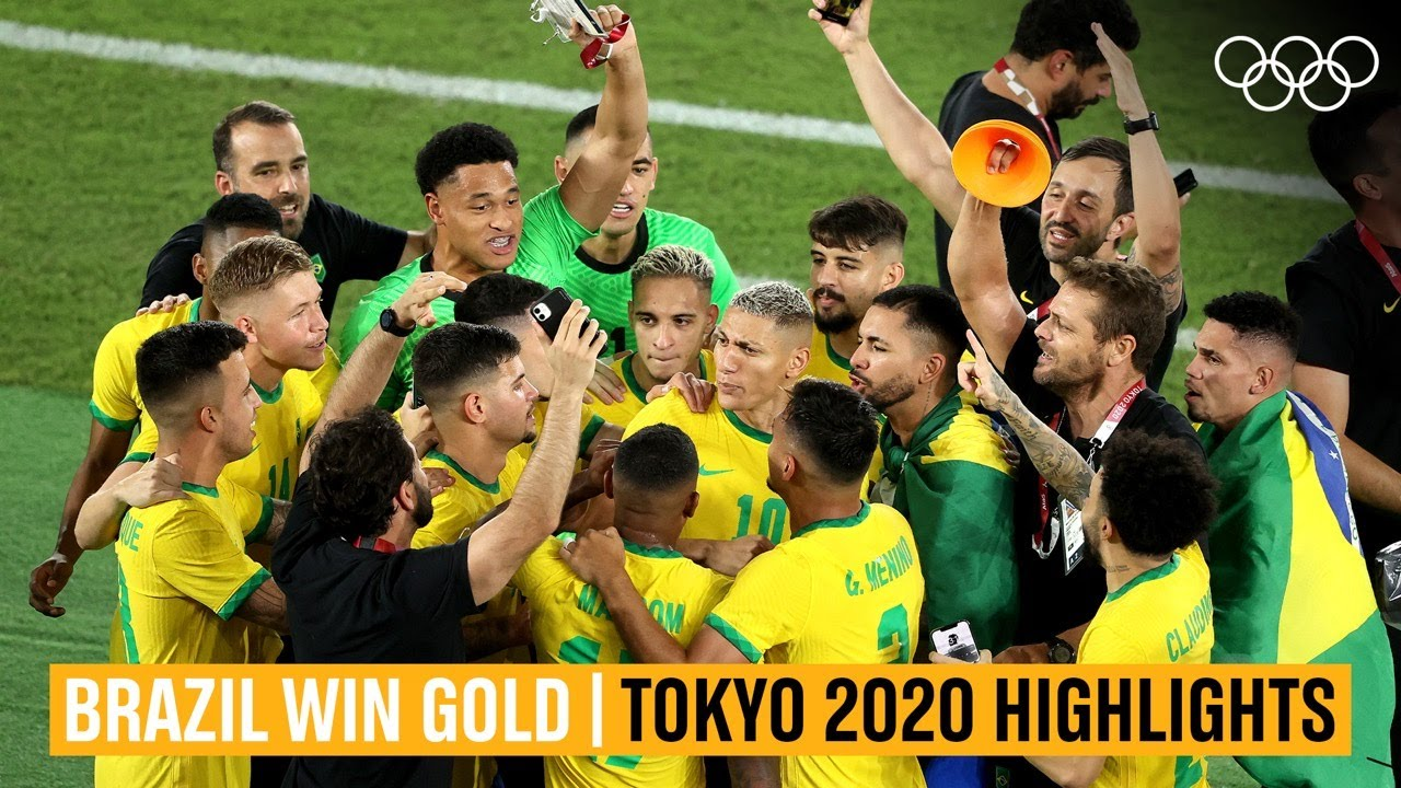 ⚽ Brazil crowned Olympic Champions | #Tokyo2020 Highlights