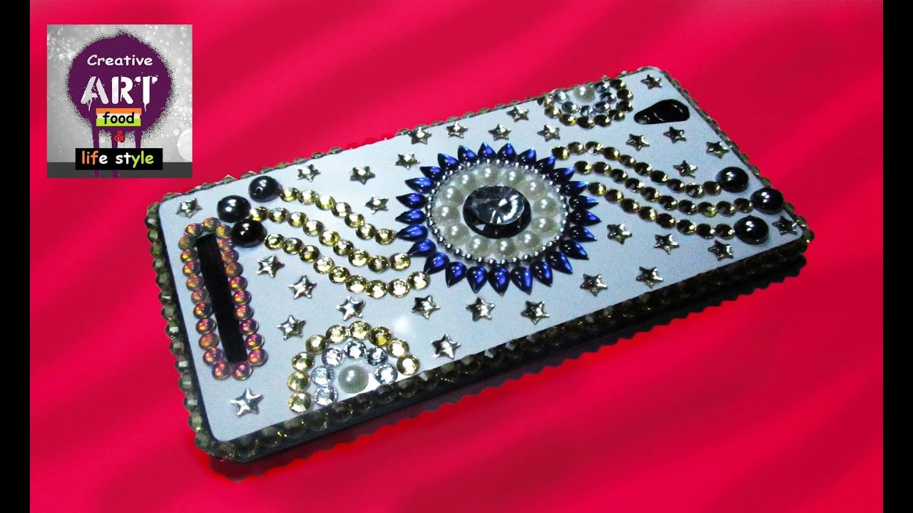 How To Decorate A Phone Case Easy And Gorgeous Diy Art With