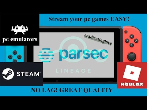 Installing Parsec On Nintendo Switch (stream Your Pc And Play All Types Of Pc Games.) 2019