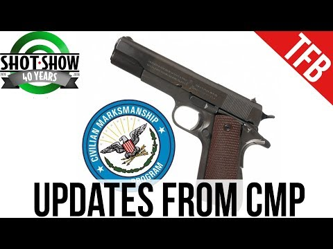 [SHOT 2018] Updates from Civilian Marksmanship Program (CMP)