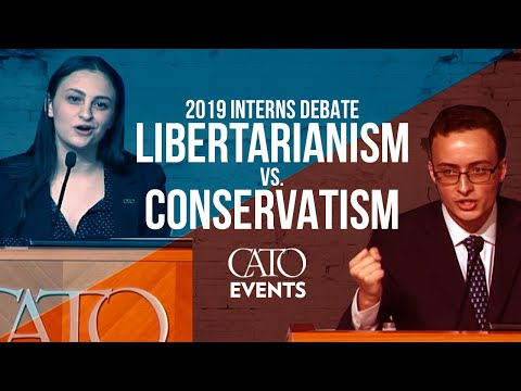 Interns Debate: Libertarianism Vs. Conservatism (Cato Vs. Heritage)
