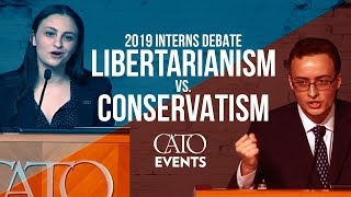 Nterns Debate Libertarianism Vs. Conservatism Cato Vs. Heritage