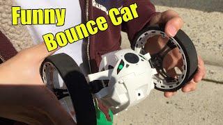 Funny Mini Drone Bounce Car - GreeGear