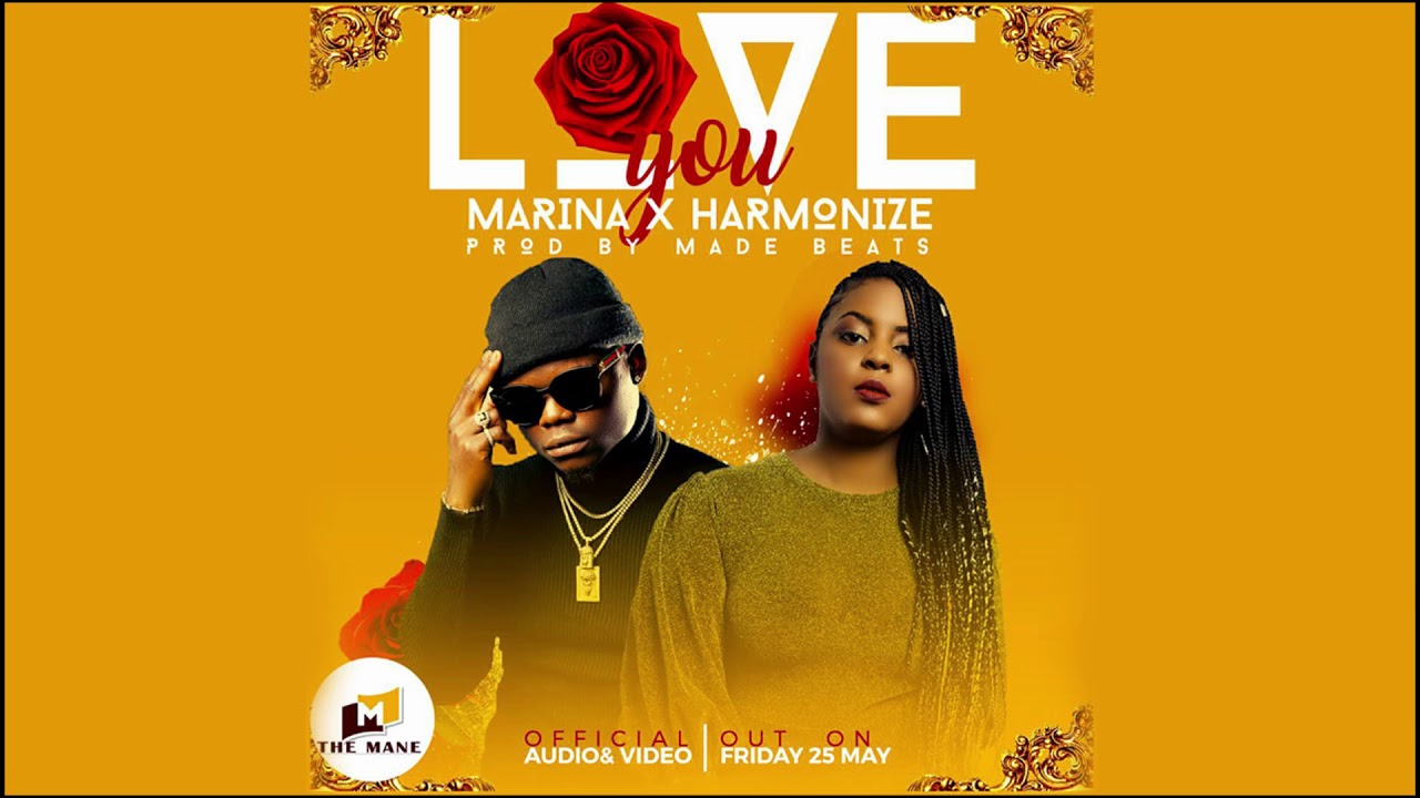 Marina ft Harmonize - Love You (Official Audio) - YouTube