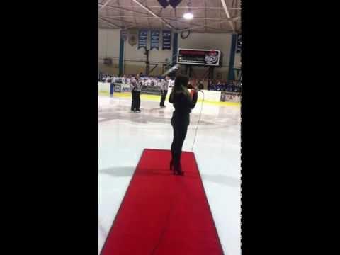 Canadian National Anthem  Rebekah Asselstine