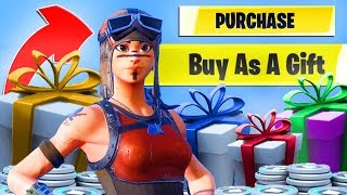 GIFTING SKINS SYSTEM pour le RENEGADE RAIDER In Fortnite Battle Royale