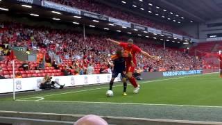 Andy Carroll vs Bayer Leverkusen