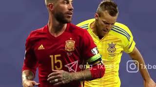 Футбол Лига наций УЕФА Испания Украина 1xBet