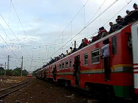 KRL Ekonomi Bogor & KRL Ekonomi AC Jakarta