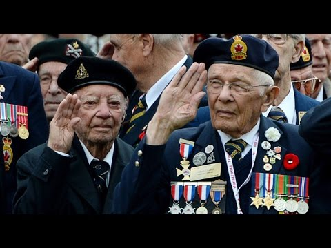 VE-Day 2015: Canadian veterans honoured in the Netherlands