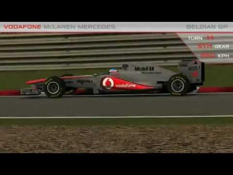 Formula One: Take a lap around Spa