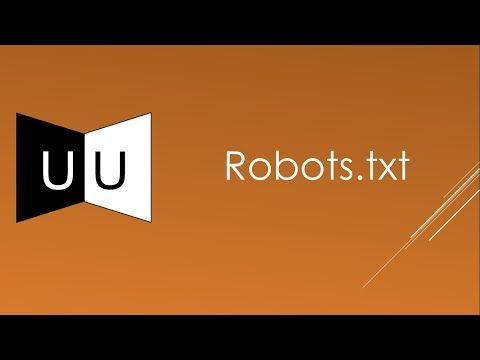 Role of robots.txt in SEO | Best Video Tutorial Ever