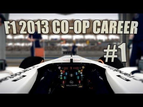 F1 2013 Co-op Career - Australia