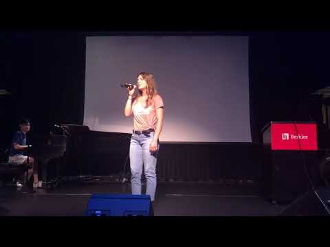 """Avery Madilyn Veteto sings a cover ofElla Fitzgerald's """"Cry Me a River"""""""