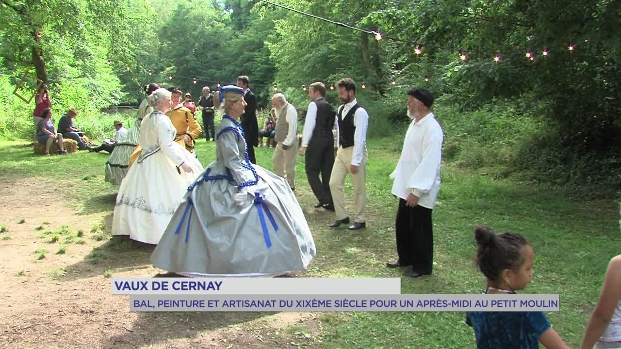 Yvelines   Cernay-la-Ville : Bal, peinture et artisanat du XIXè au Petit Moulin