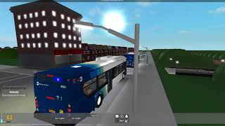 NTA (Roblox) ~ 2018 novo Flyer XcelXD40 #9502 | (H) linha Shuttle Subway