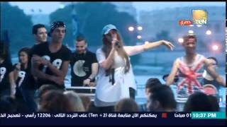 فيديو| زينة تغني مهرجانات في
