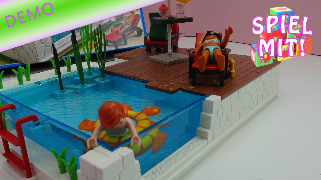 Swimming pool playmobil city life aufbau review 5575 - Playmobil swimming pool best price ...