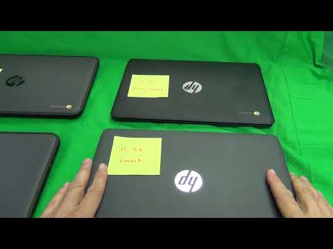 Differences Between HP Chromebook 11 G5 and G5 EE, Touch and Non-Touch