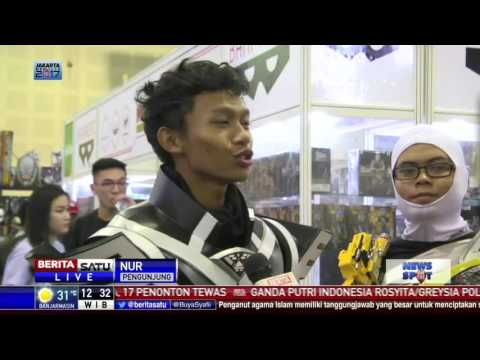 Pameran Toys dan Comic Fair 2017