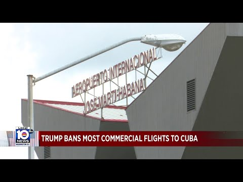 Trump Administration Bans Most Flights From U.S. To Cuba