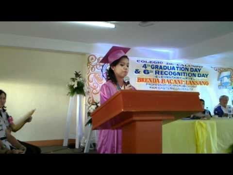 Example of a Valedictorian Speech