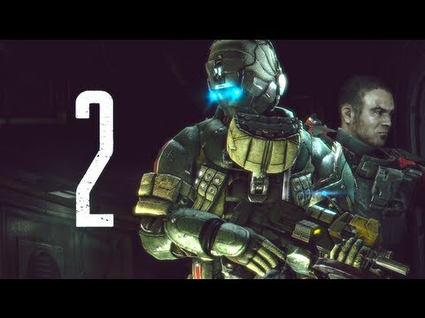 Dead Space 3 (Xbox 360) Walkthrough Part 2 - Introducing Necromorph Menace - Chapter 1