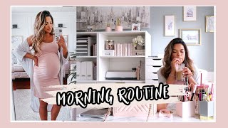 My Morning Routine | Pregnant During Pandemic