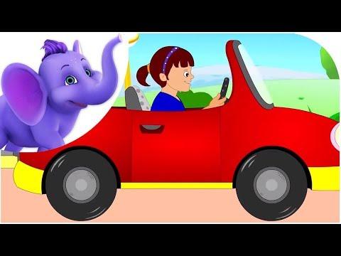 Driving in My Car (Road Version) - Nursery Rhyme