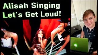 """Alisah Bonaobra Wows with JLo's """"Let's Get Loud"""" on The X Factor UK! (Reaction)"""