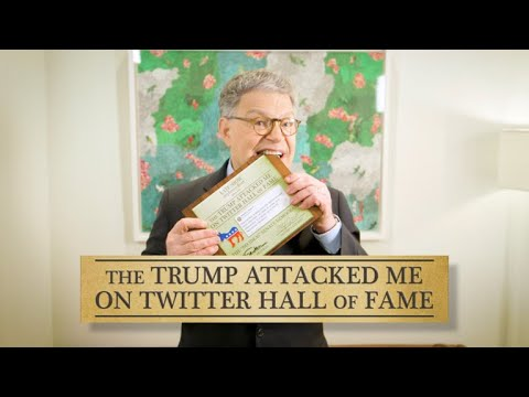 Senate Democrats Join The 'Trump Attacked Me On Twitter' Hall Of Fame