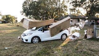 Crashing My New Car!