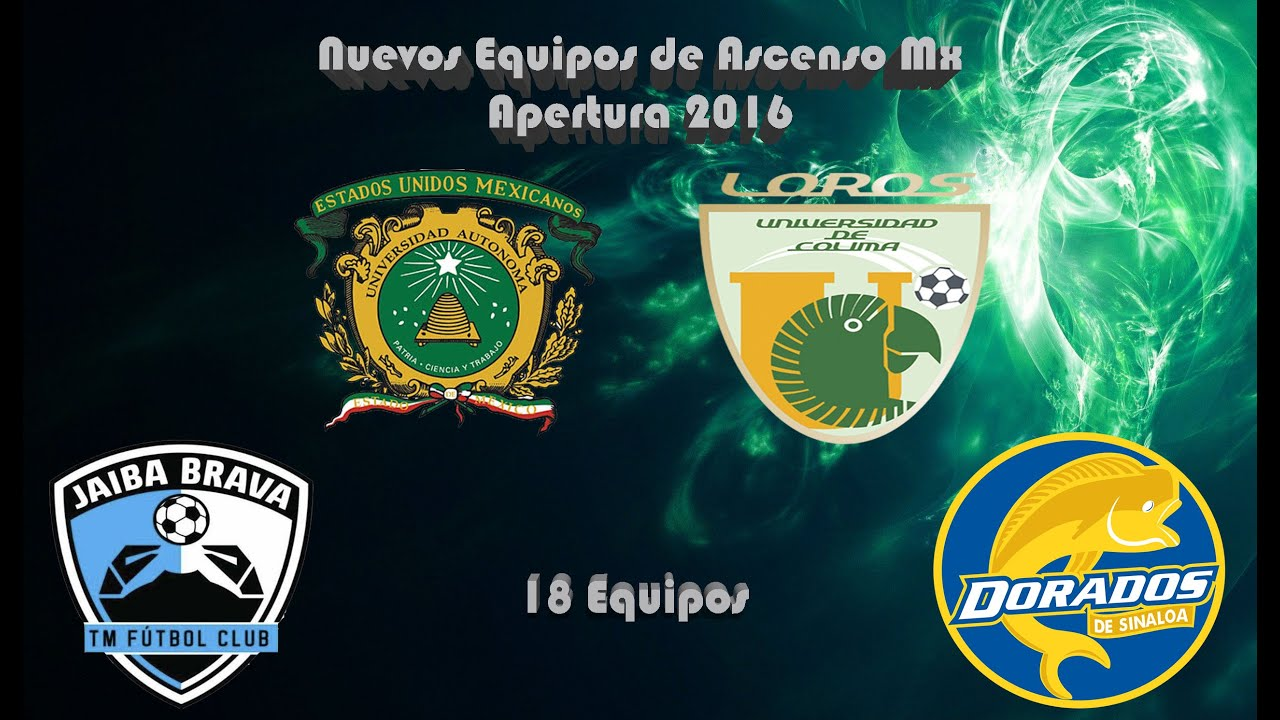 Ascenso Mx Nuevos Equipos Youtube