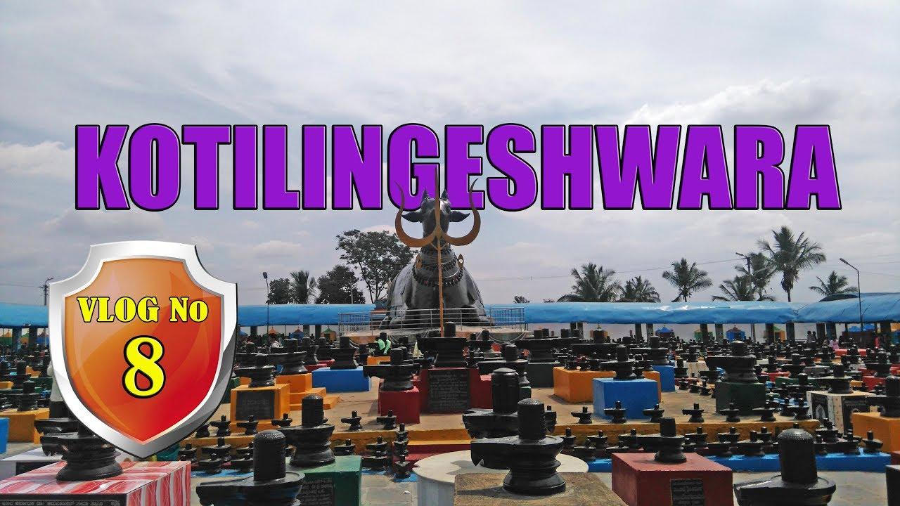 Kotilingeshwara Temple Gold Field Kolar Karnataka Hd Youtube
