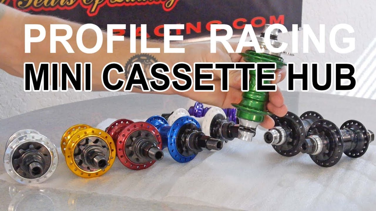 BMX PARTS - Profile Racing - Mini Cassette Hub
