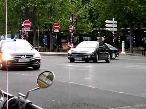 Prime MInister of Iraq Nouri al-Maliki Motorcade in Paris SPHP
