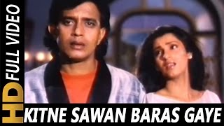 Video Kitne Sawan Baras Gaye|Anuradha Paudwal| Bees Saal Baad 1988 Songs| Mithun Chakraborty, Dimple download MP3, 3GP, MP4, WEBM, AVI, FLV November 2017