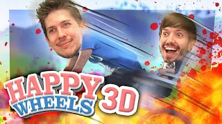 HAPPY WHEELS 3D?! (Guts and Glory)