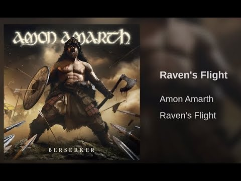 Amon Amarth release their new song titled Raven's Flight off new upcoming album!