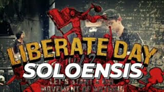 SOLOENSIS Check Sound at LIBERATE DAY VOL 2