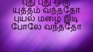 Tamil Karaoke-Yaar Vanthu Poovukkul
